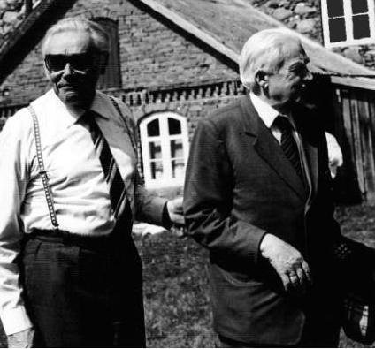 Žanis Ludviks un Pēteris Egle